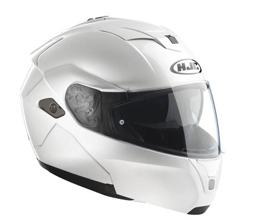 Casco modulare HJC SYMAX III Bianco Perla