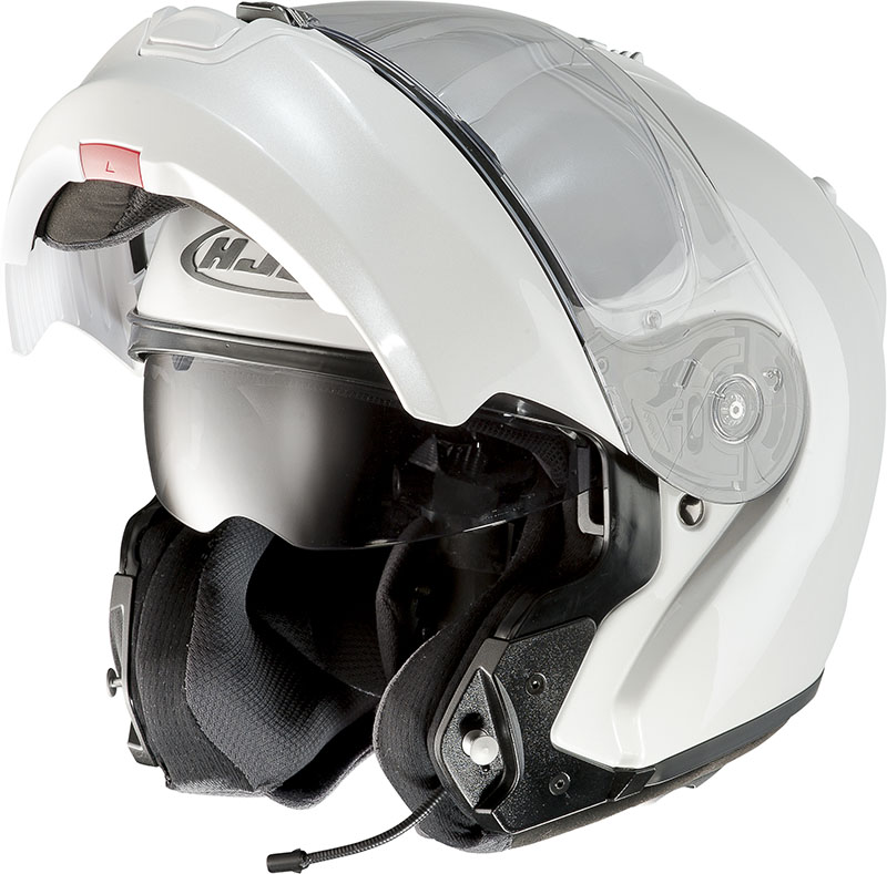 Modular Helmet HJC RPHA MAX EVO Pearl White