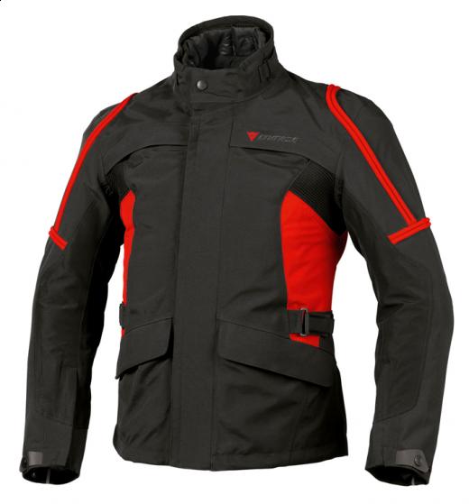 Giacca moto Dainese Bruce Gore-Tex nero-rosso