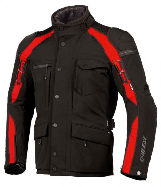 Giacca moto Dainese Gator Evo Gore-Tex 2011 nero-rosso