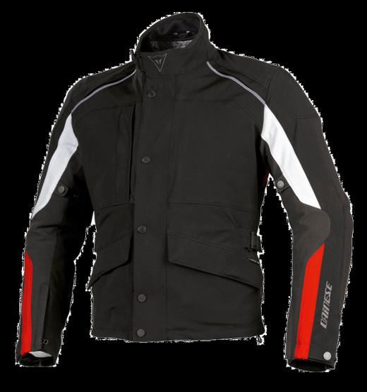 Giacca moto Dainese Ice-Sheet Gore-Tex nero-rosso