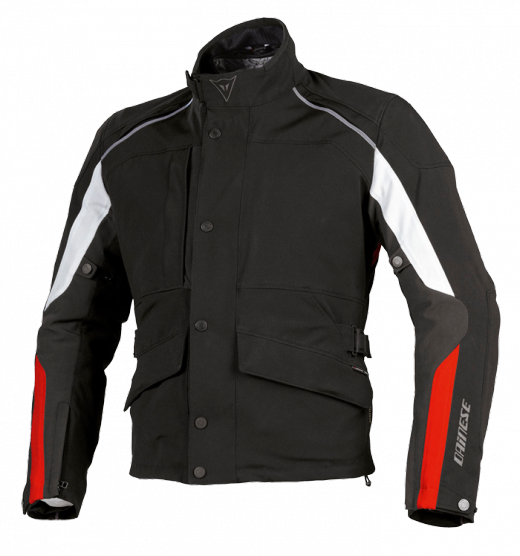 Dainese Ice-Sheet Gore-Tex motorcycle jacket black-red