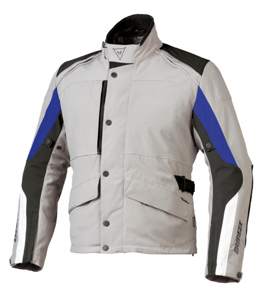 Dainese Ice-Sheet Gore-Tex motorcycle jacket grey-black-blue
