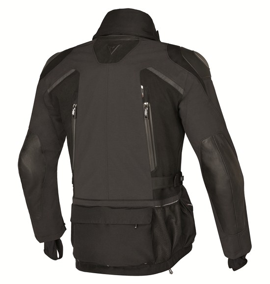 Dainese Stradon Gore-Tex motorcycle jacket black-black