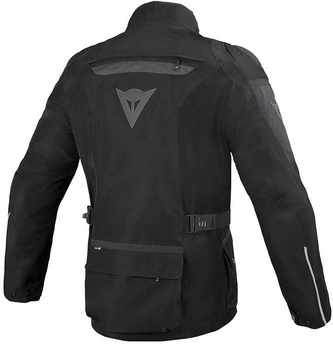 Giacca moto Dainese Ridder Gore-tex nero nero dark gull gray