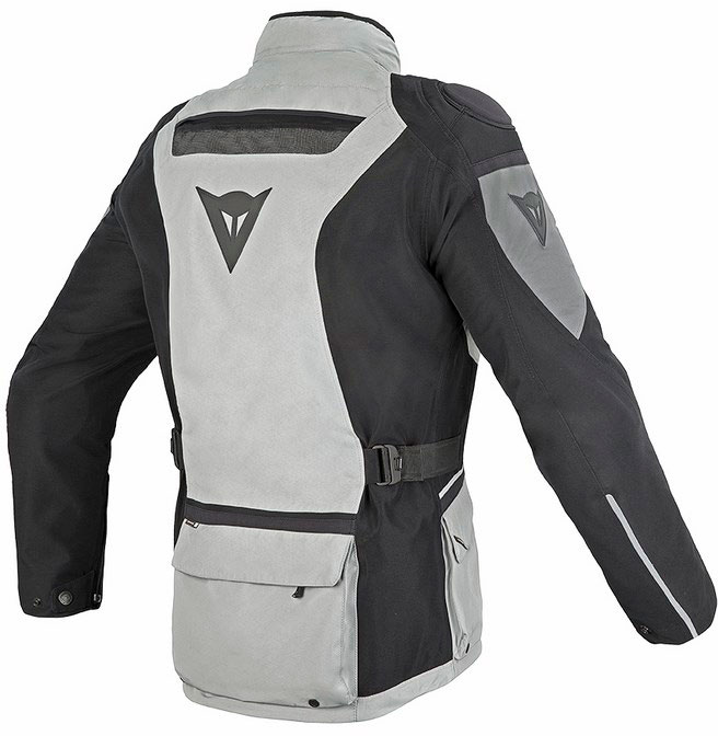 Giacca moto Dainese Ridder Gore-tex high rise nero castle rock