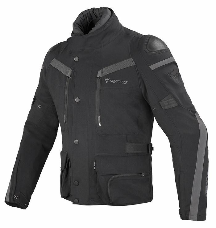 Dainese Gore-Tex Jacket Carve Master Black Dark gull gray