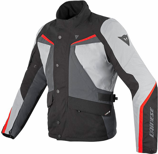 Dainese Ice Evo Gore-Tex jacket black high rise red