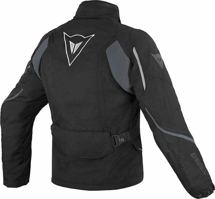 Giacca moto Dainese Ice Evo Gore-Tex nero nero dark gull gray