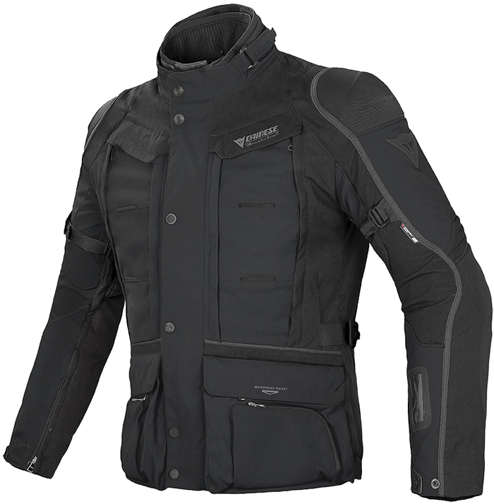 Dainese D-Explorer GoreTex jacket Black Dark Gull