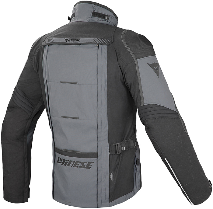 Dainese D-Explorer GoreTex jacket Black Castle rock Dark Gull