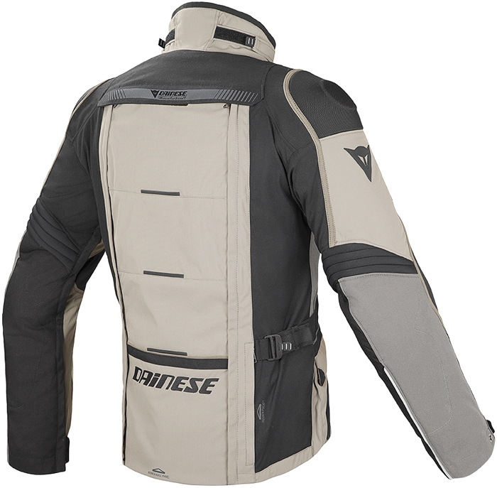 Giacca moto Dainese D-Explorer GoreTex Peyote Nero Simple taupe