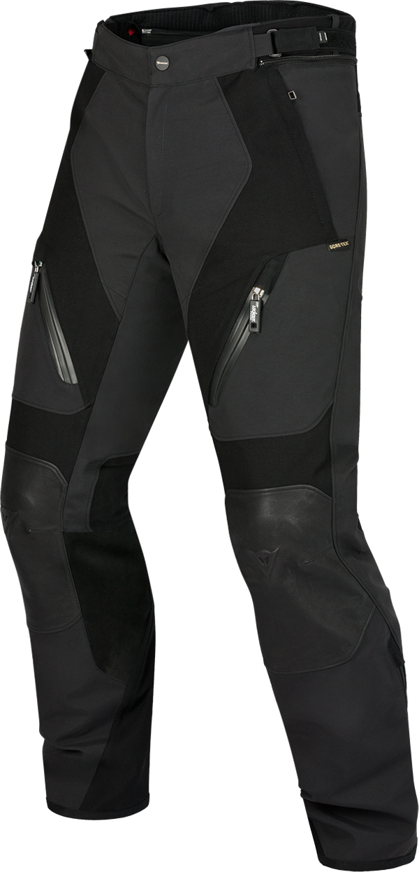 Pantaloni moto Dainese Lontan Gore-tex nero nero