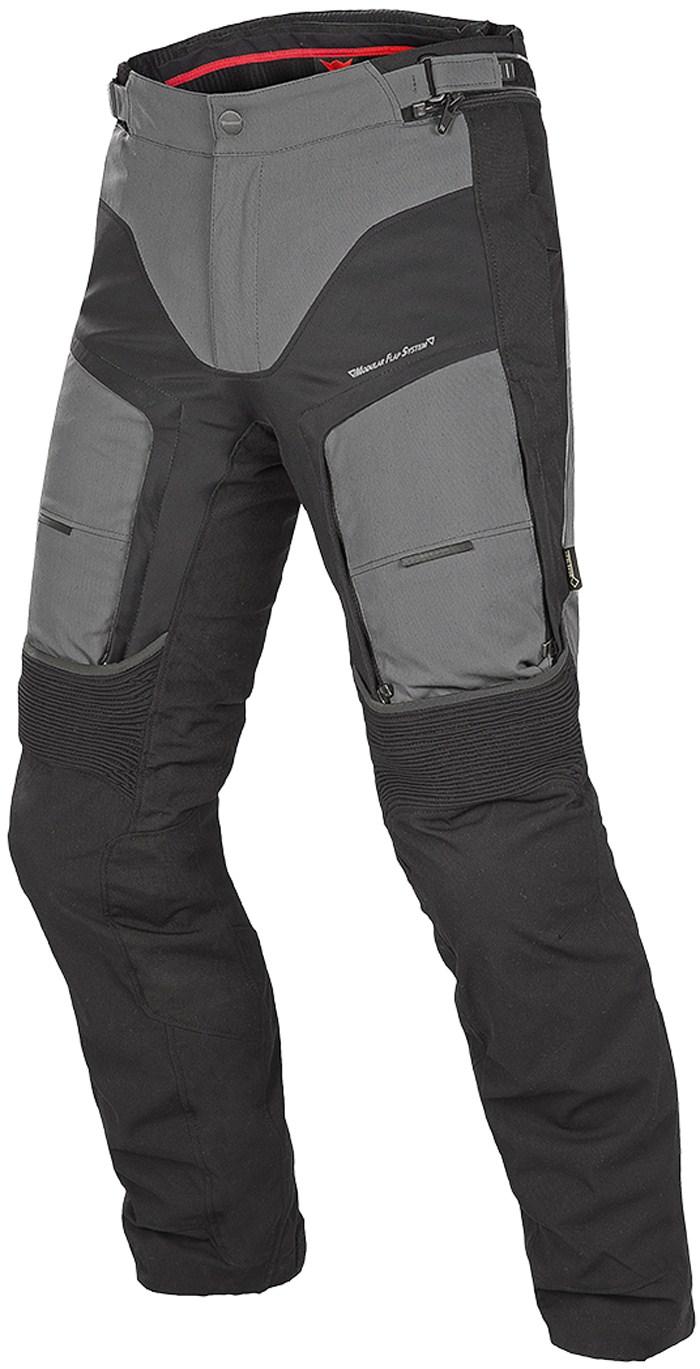 Pantaloni moto Dainese D-Explorer GoreTex Castle rock Nero Dark