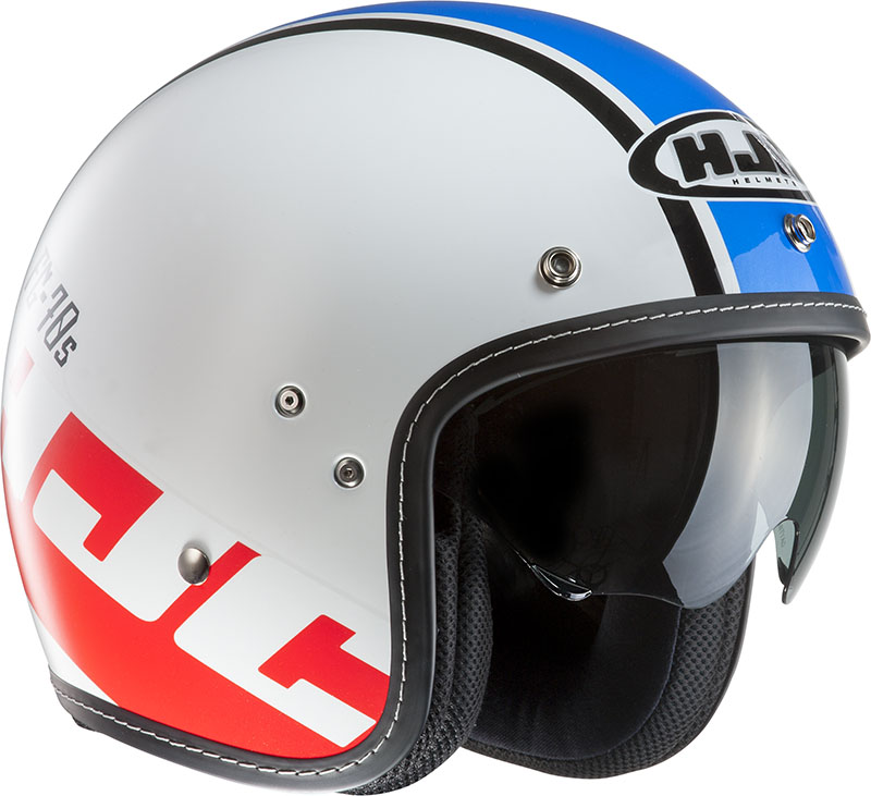 Jet Helmet HJC FG 70s Verano MC2