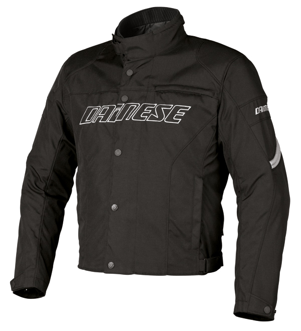 Dainese Racing D-Dry motorcycle jacket black-reflex
