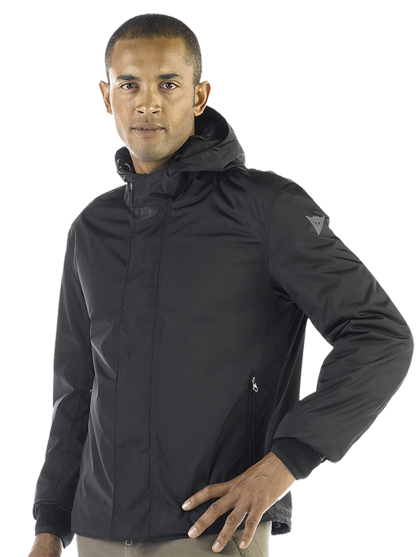 Giacca moto Dainese D-Trench D-Dry nera