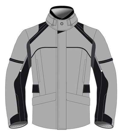 Giacca moto Dainese Marsh D-Dry grigio-nero