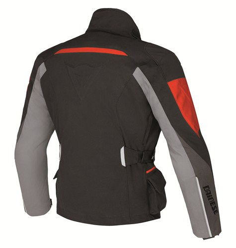 Dainese Temporale Lady D-Dry jacket black-dark grey-blue