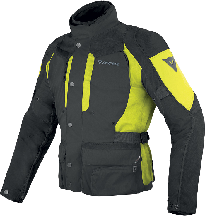 Giacca moto Dainese D-Stormer D-Dry Nero Giallo