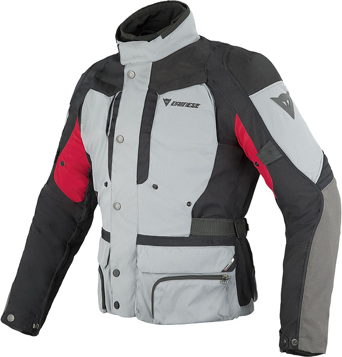 Dainese D-Stormer D-Dry jacket castle rock - black- red
