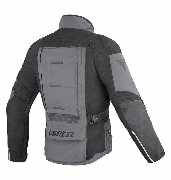 Dainese D-Stormer D-Dry jacket castle rock - black- blue