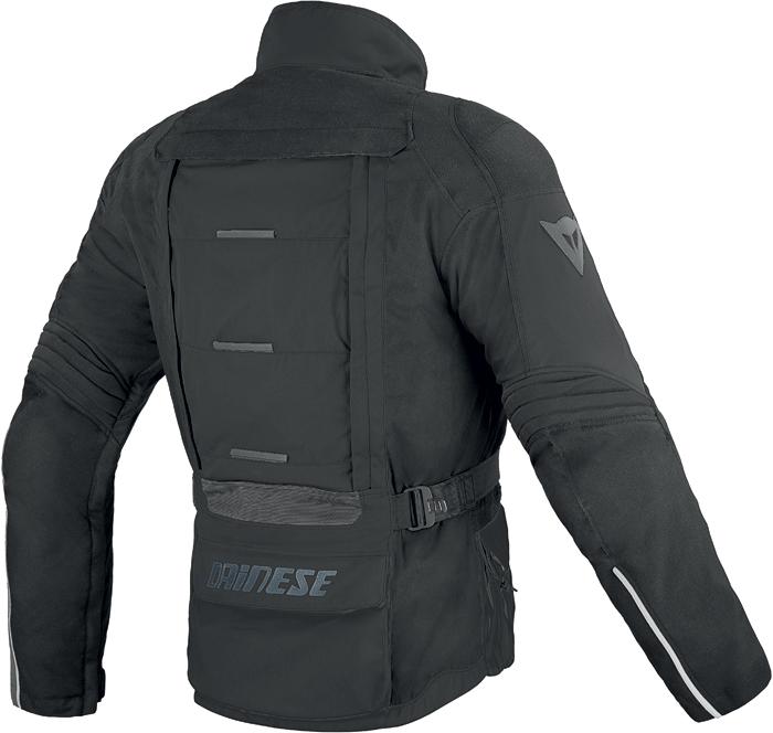 Jacket Dainese D-Stormer D-Dry Black Dark gull gray