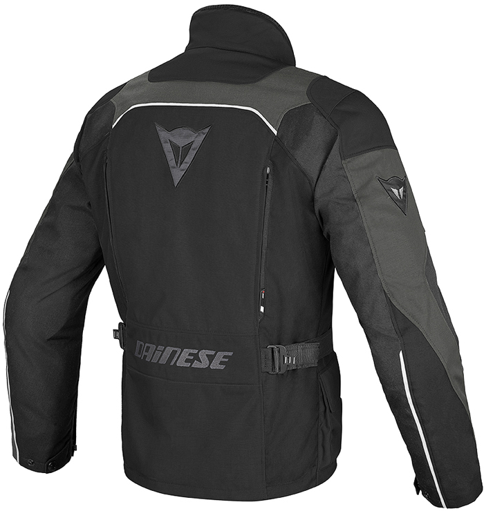 Dainese Tempest D-Dry jacket Black Dark gull