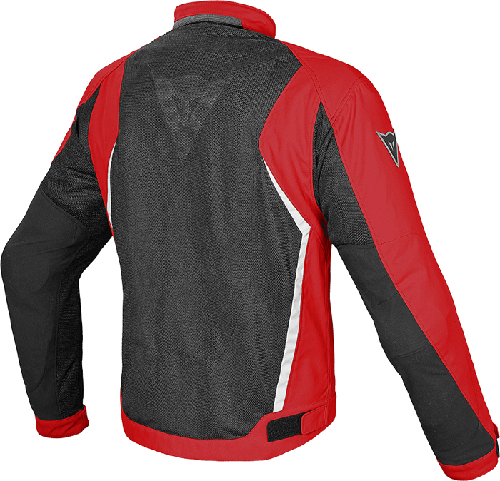 Giacca moto Dainese Hydra Flux D-Dry Nero Rosso Bianco