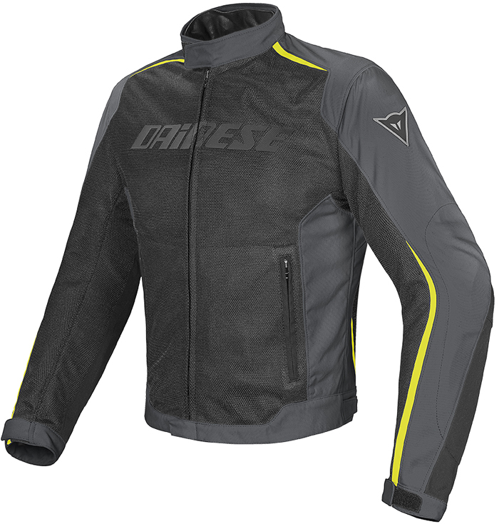 Dainese Hydra Flux D-Dry jacket Black Dark Gull Yellow