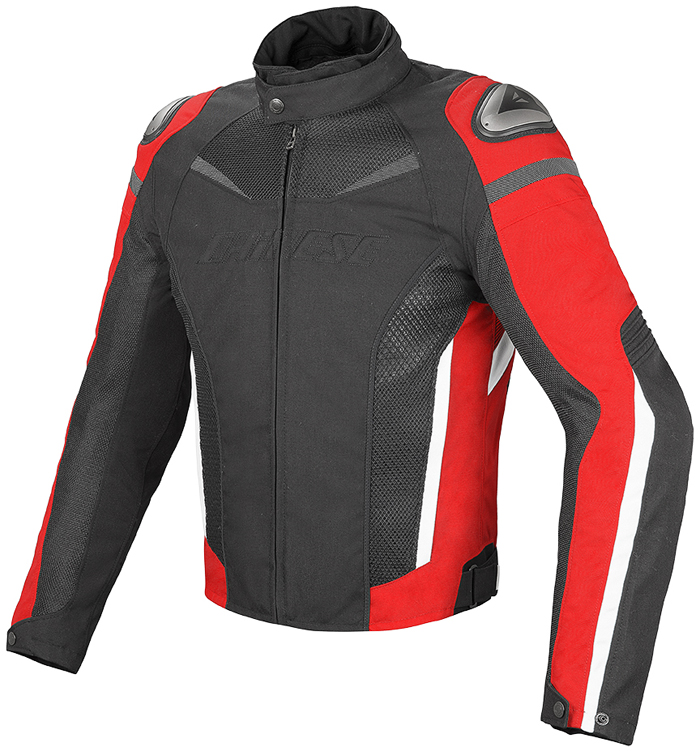 Giacca moto Dainese Super Speed D-Dry Nero Rosso Bianco