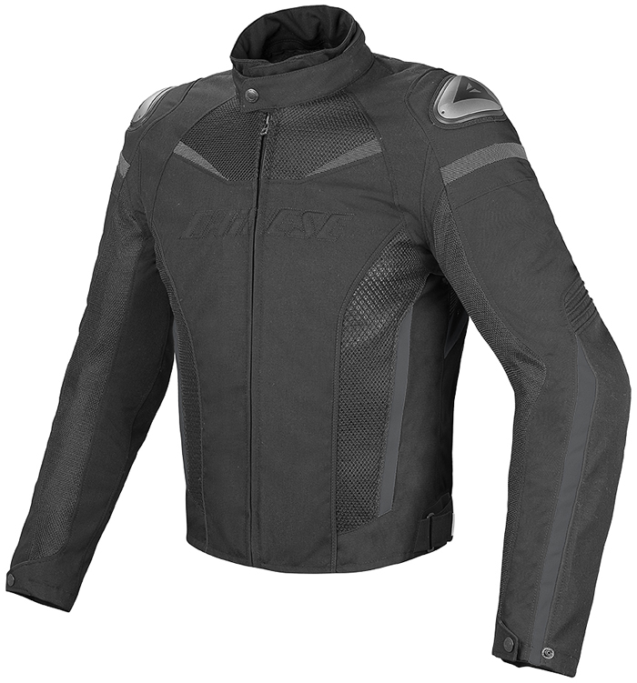 Giacca moto Dainese Super Speed D-Dry Nero Dark gull