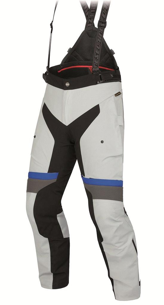 Pantaloni moto Dainese Teren D-Dry high rise-nero-princess blue