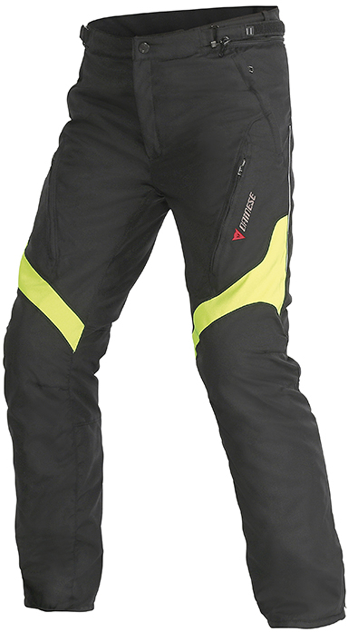 Dainese Tempest D-Dry trousers Black Yellow