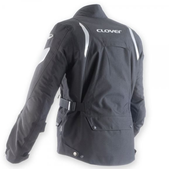 Motorcycle jacket 3-layer WP Black Clover Commander