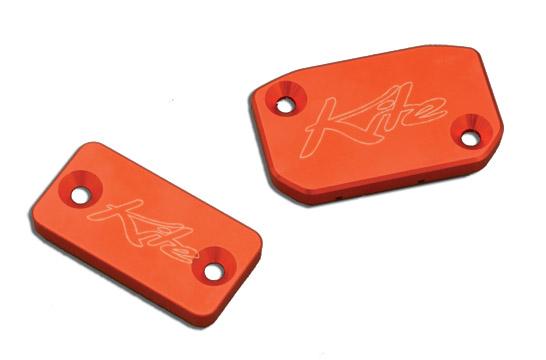 Coperchio serbatoio freni anteriore Kite KTM Arancio