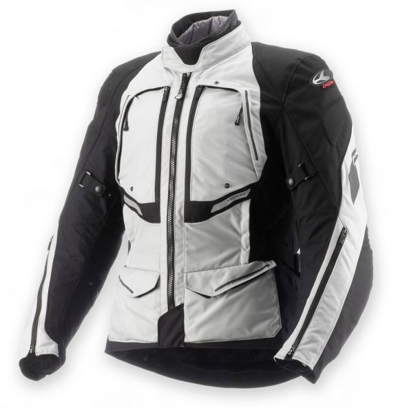 Clover GTS WP Airbag 3 layers jacket Grey