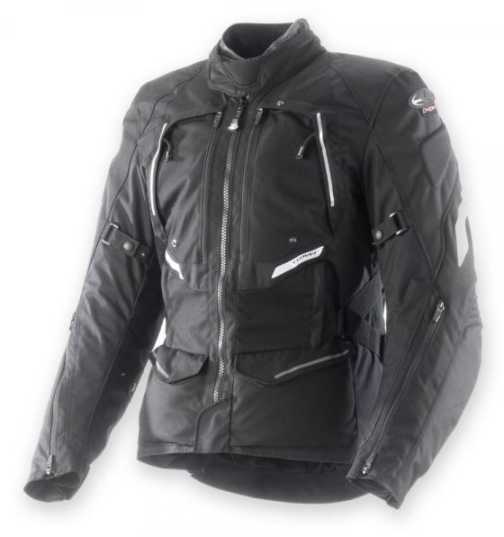 Clover GTS WP Airbag 3 layers jacket Black
