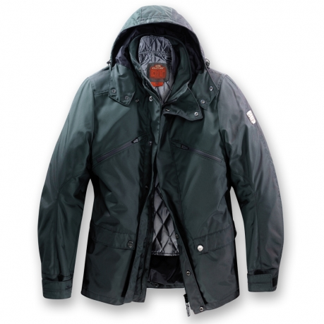 Motorcycle jacket Clover Newport WP Oil