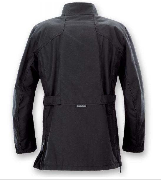 Clover Brighton WP Waterproof Motorcycle Jacket Black