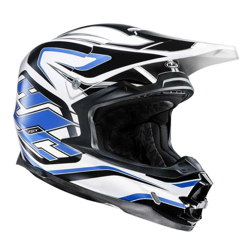 HJC FGX cross helmet Hammer MC2
