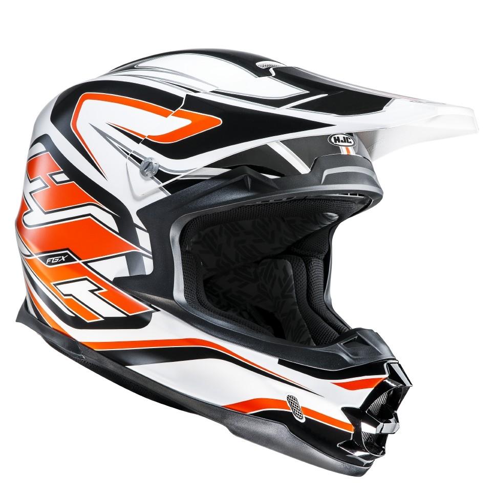 HJC FGX cross helmet Hammer MC7