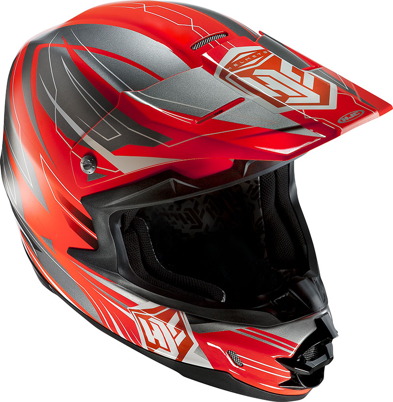 Cross helmet HJC FGX Talon MC6