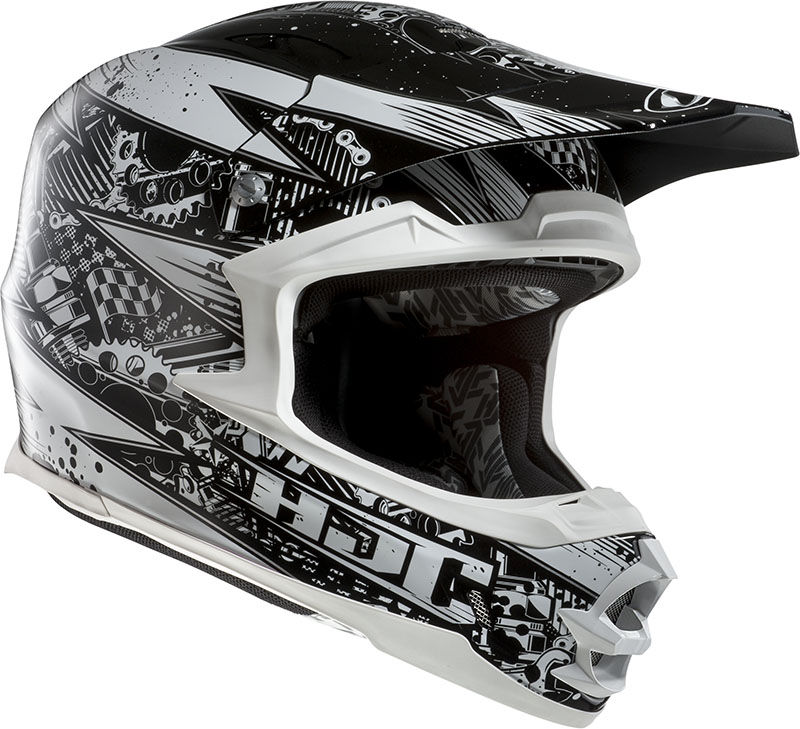 Cross helmet HJC FGX Driven MC10