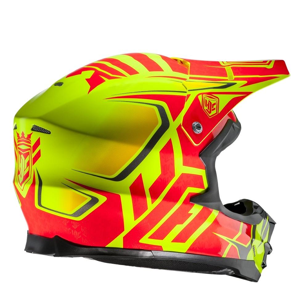 HJC FGX cross helmet Grand Duke MC3H