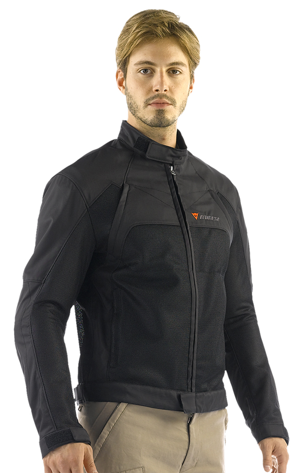 Dainese Air-Flux Tex summer motorcycle jacket black