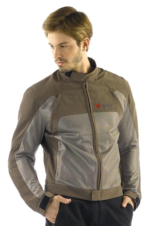 Dainese Air-Flux Tex summer motorcycle jacket bronze