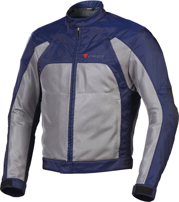 Giacca moto estiva Dainese Air-Flux Tex eclipse-antracite