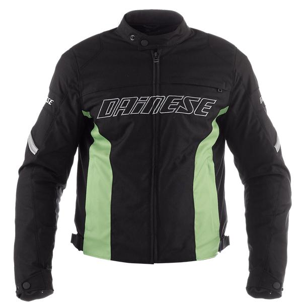 Giacca moto Dainese Racing Tex nero-verde