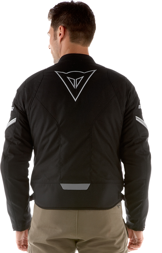 Dainese Racing Tex motorcycle jacket black-reflex
